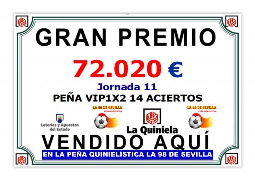 GRAN PREMIO DE LA PEÑA LA 989 DE SEVILLA JORNADA11 72 020