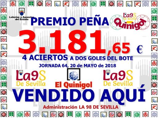 CARTEL PREMIO EL QUINIGOL 20 05 18