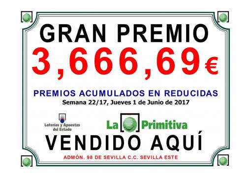 3 06 17 primitiva 3 666,69€  001